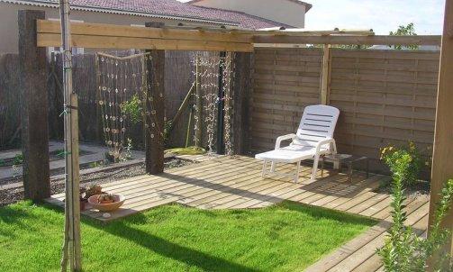 Terrasse en bois Bollène